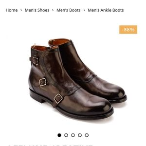 Office creative Monk strap Boots